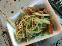 Som Tum. Papaya Salad.