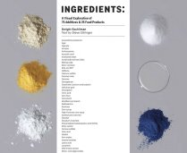 Ingredients: A Visual Exploration of 75 Additives & 25 Food Products ($35) by Dwight Eschliman